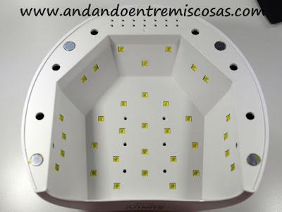 Lámpara Para Uñas De Gal Sunuv Sun2