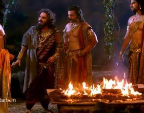 Sinopsis Mahabharata Episode 92 - Rencana Jahat Sengkuni: Bakar Pandawa di Wanabrata