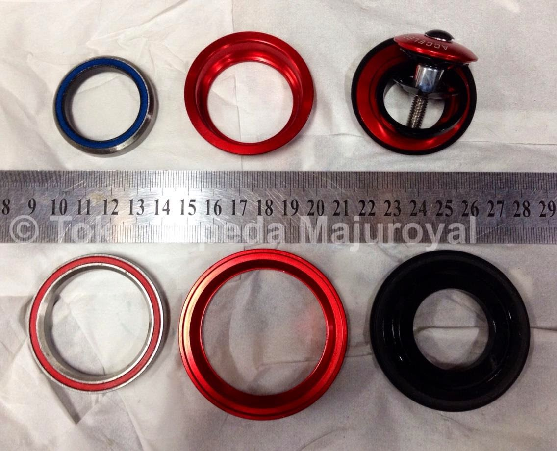 Headset Bearing Taper Red