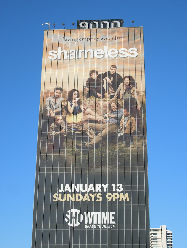 Giant Shameless season 3 billboard