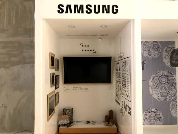 Samsung The Frame TV when not in Art Mode
