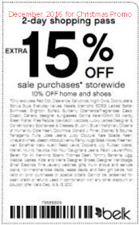 Belk coupons december