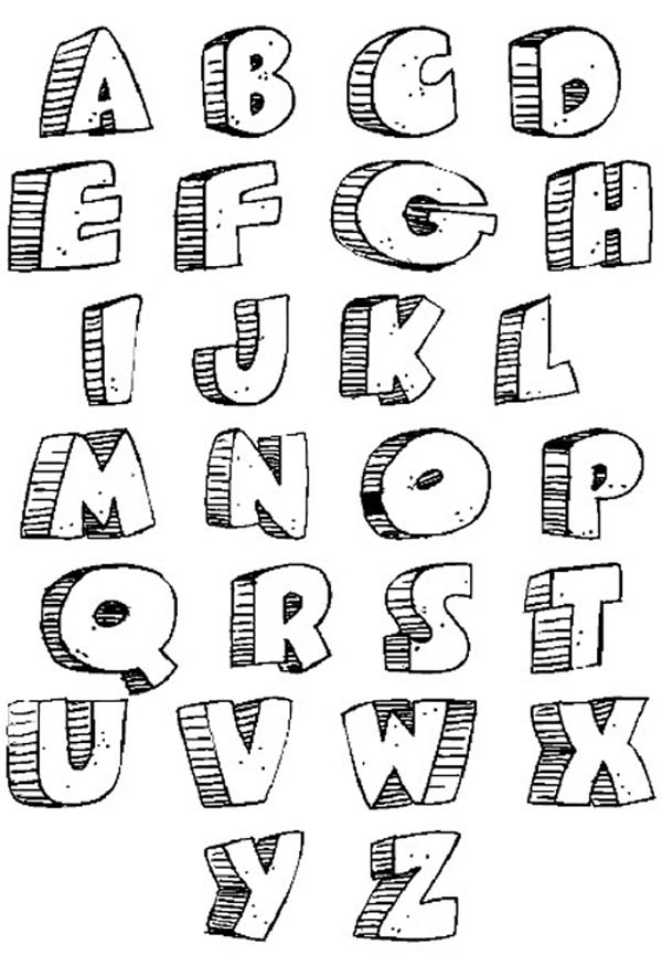 Creative Graffiti: Graffiti Letters