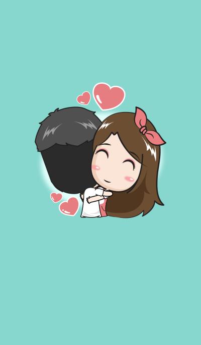 Love me? (green)
