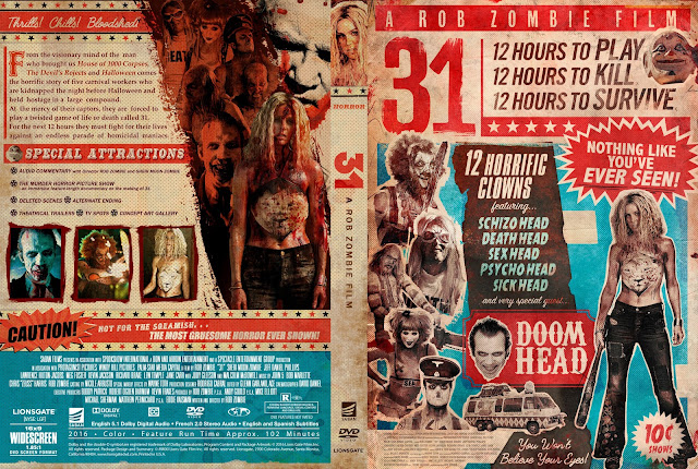 31 DVD Cover