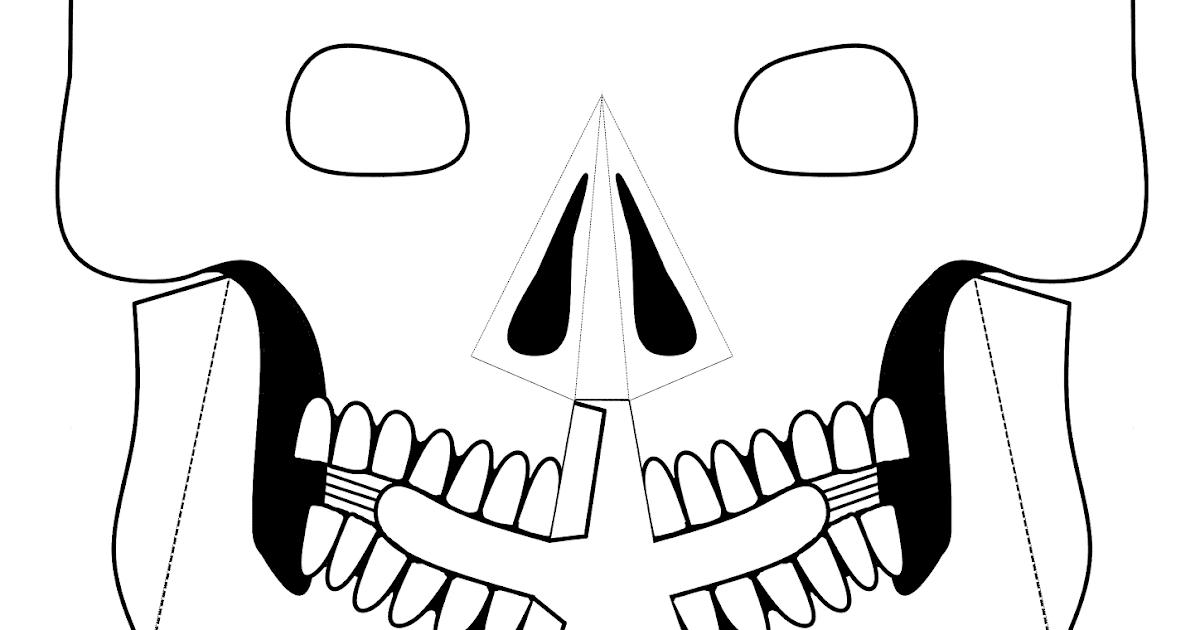 Me encanta escribir en español: Máscara para el Día de Muertos