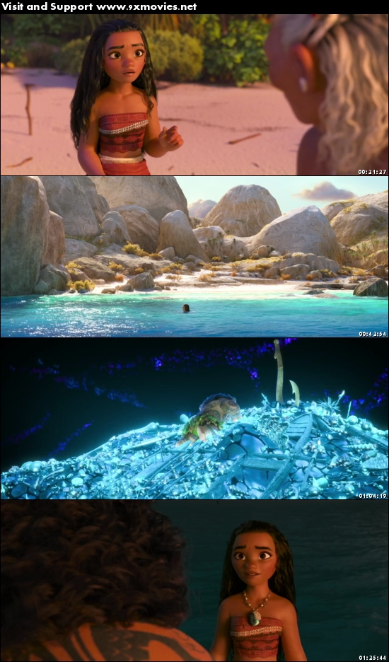 Moana 2016 English 480p BRRip