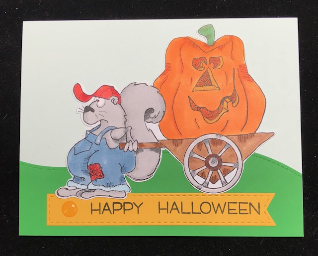 Happy Halloween Squirrel Card Pictures Gallery