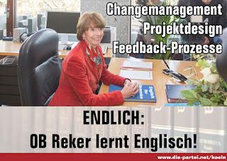 Die Partei Reker Englisch Köln