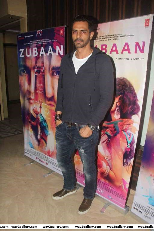 We spotted Arjun Rampal at a special screening of Zubaan