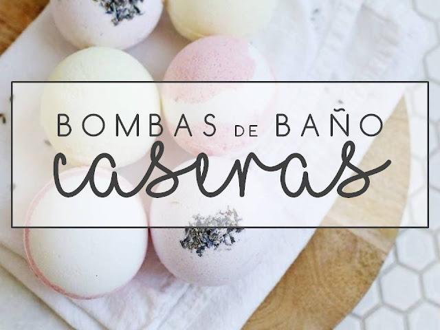 BOMBAS DE BAÑO CASERAS