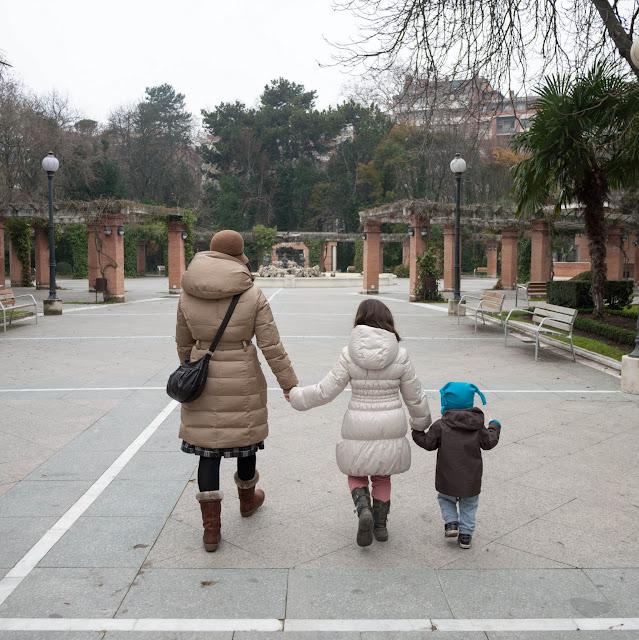 No sin mis hijos en el Campo Grande de Valladolid