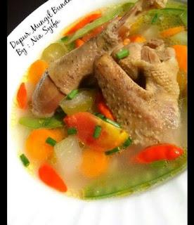 Resepi Masak Asem-asem Ayam Kampung