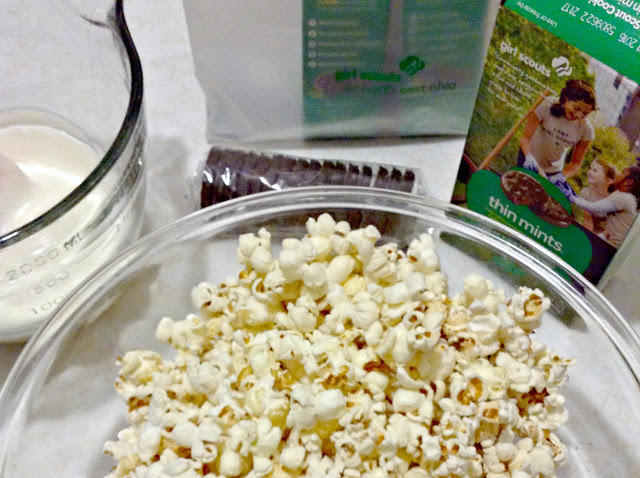 Girl Scouts Thin Mints Cookie Popcorn Munch | Popcorn