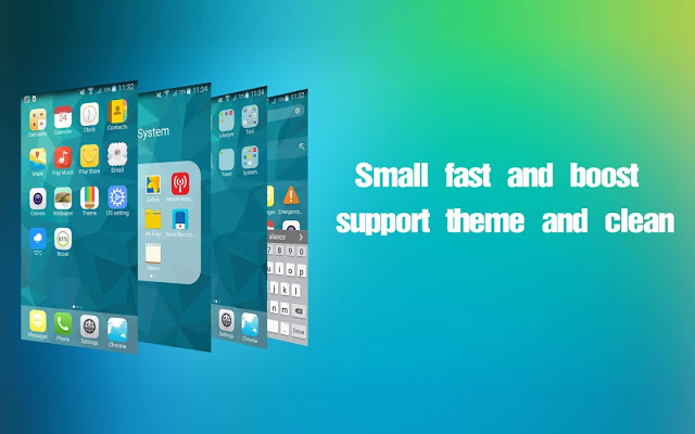 التطبيق  OS9 Launcher HD-smooth & theme