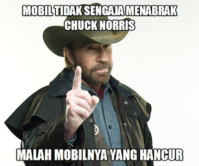 28 Meme Lucu Chuck Norris aka Cak Norris