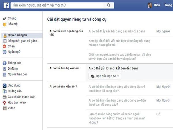 Cách Chặn Tin Nhắn Rác Từ Facebook 1