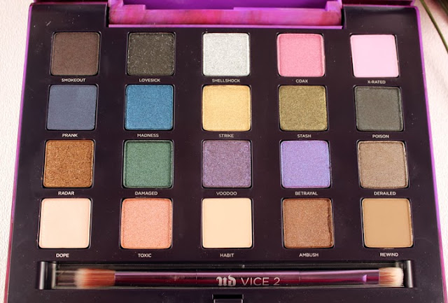 Urban Decay Vice 2 Eye Shadow Palette