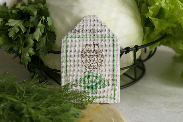 Дизайн Véronique Enginger из книги Dans mon jardin au point de croix