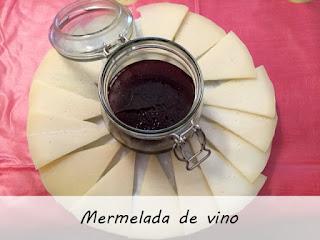 Mermelada de vino