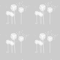 dandelion pattern paper