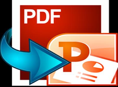 شرح تحويل ملفات PDF الى PPTX بدون برامج