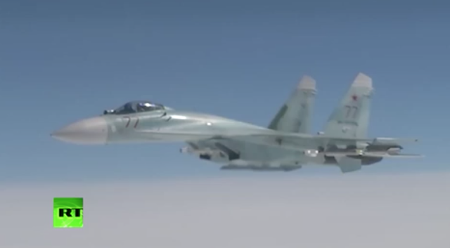 NATO intercepts Russian jet 'HIDING from radar to stop air DISASTER over Europe'
