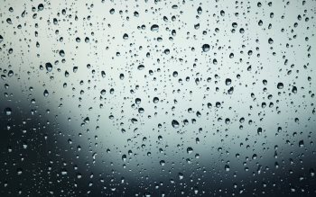 Wallpaper: Water Drops on Window