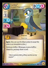 My Little Pony Gabby, Express Delivery Friends Forever CCG Card