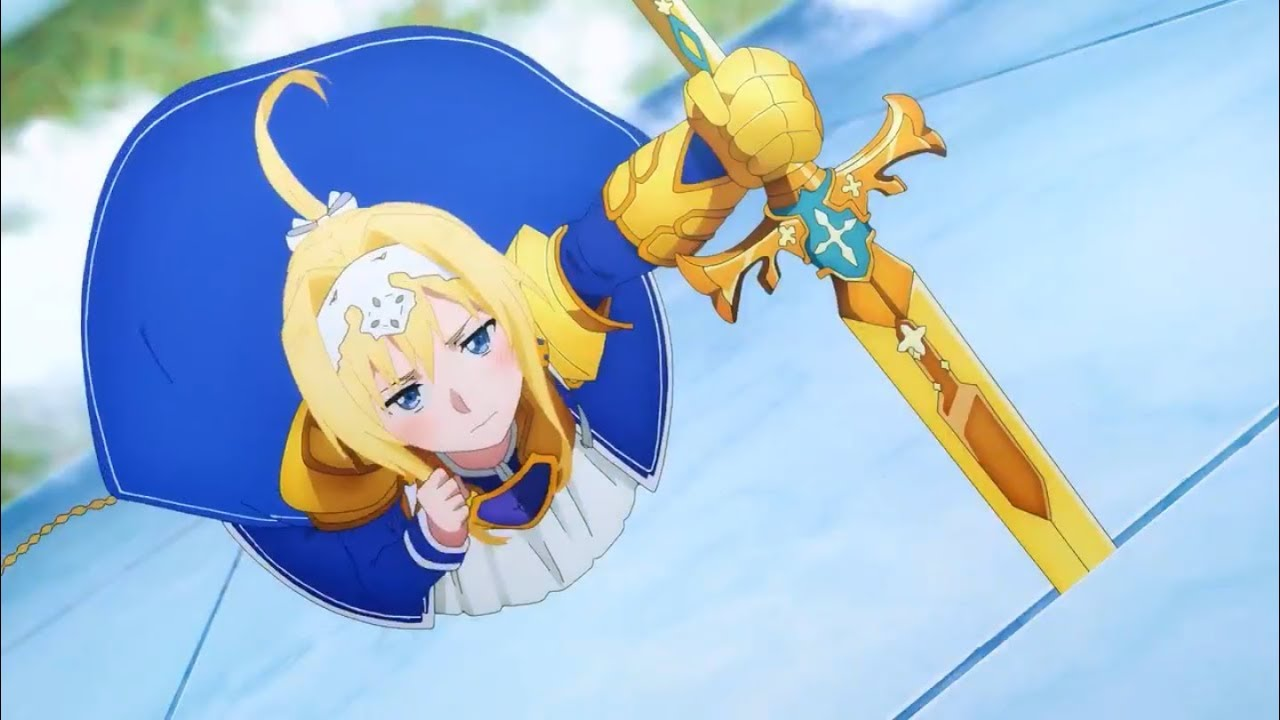 Sword art online alicization episode 17 sub indo alice dan kirito