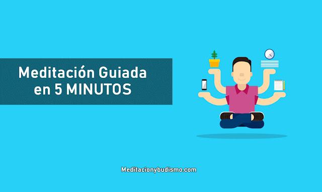 Meditación del día en solo 5 minutos