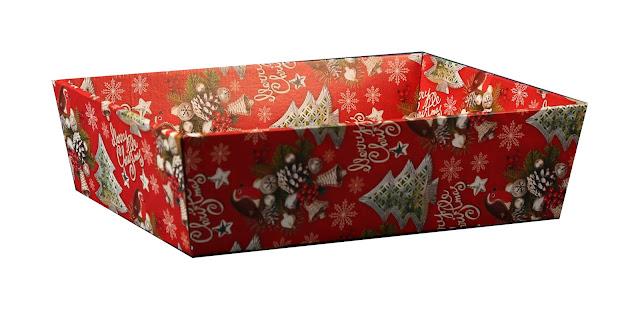 Kosze prezentowe świąteczne zestaw 1c