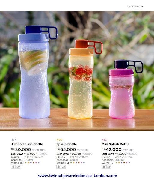 Jumbo, Mini Splash Bottle