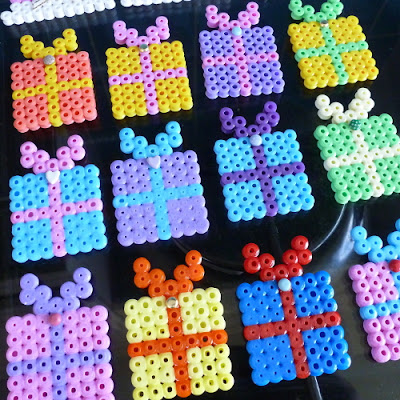 How to make a fused hama bead gift design