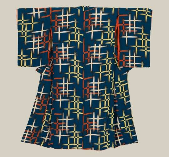 Kimono di seta. Periodo Taisho (1911-1927) 37f04dd7c92b