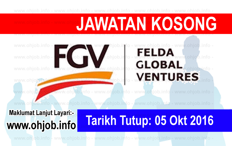 Jawatan Kerja Kosong Felda Global Ventures (FGV) logo www.ohjob.info oktober 2016