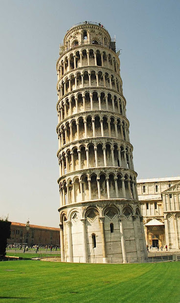 Amazing Leaning Tower Of Pisa Italy Hd Wallpapers