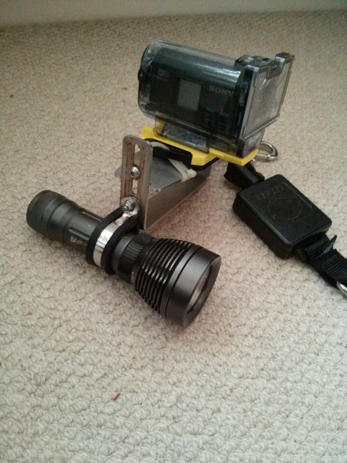 Johnohuk S Ramblings Diy Underwater Video Light For My
