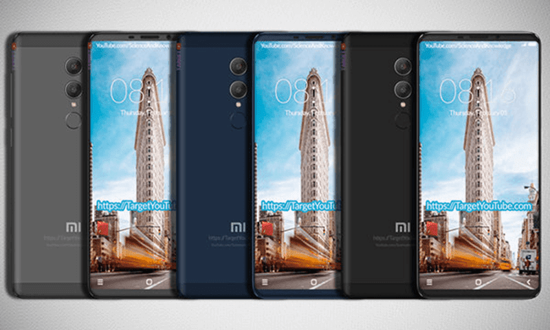 Xiaomi Redmi Note 5 with 18:9 screen and dual cameras leaks!