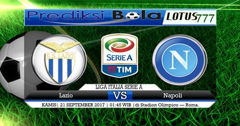 PREDIKSI SKOR  Lazio vs Napoli  21 SEPTEMBER 2017