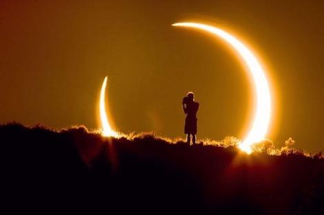 أمريكا تشهد اليوم أكبر ظاهرة كسوف كلي للشمس