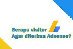Berapa banyak visitor yang dibutuhkan untuk daftar adsense?