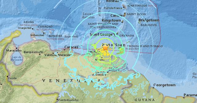 Sismo de magnitud 7,3 sacude Venezuela