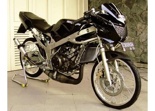 modifikasi motor ninja r warna hitam terpopuler