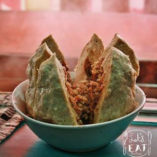 Makanan Khas Indonesia bakso - bakso setan