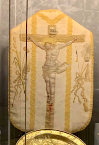Three Chasubles for Holy Thursday