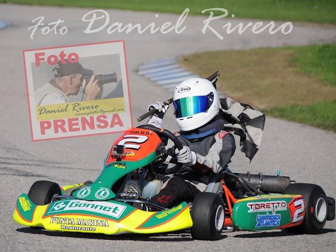 Entretenidos espectáculos de Kart brindó la AZK en Mar del Plata