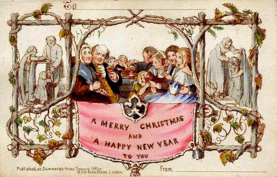 Happy Catholic* Worth a Thousand Words Christmas Card!