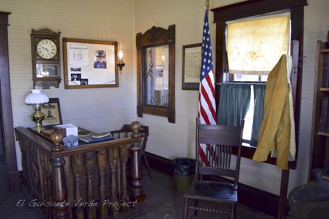 1880 Town - Dakota del Sur, oficina del sheriff