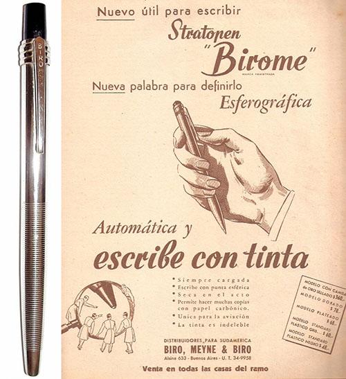 Шариковая ручка Ласло Биро